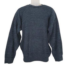 DAVID TAYLOR Blue Sweater Long Sleeved Men's Med